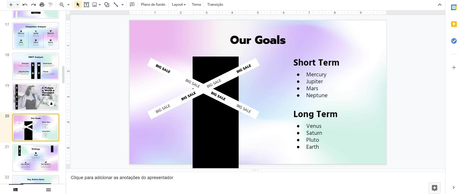 Google Slides e para que serve