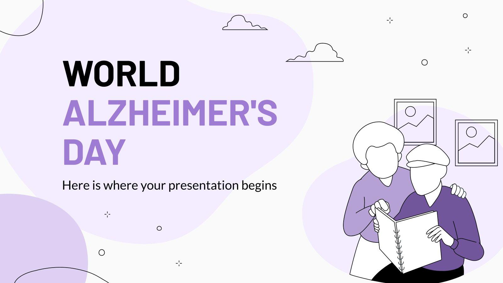 Welt-Alzheimertag Präsentationsvorlage