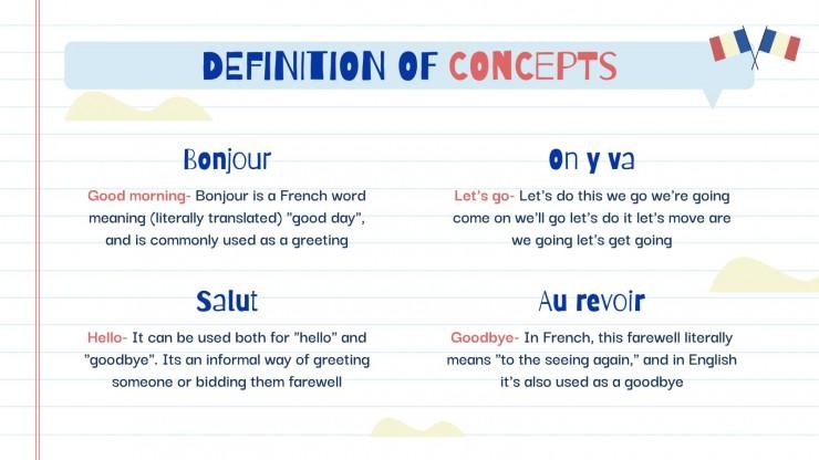 Langue étrangère pour l'élémentaire : Français : Modèles de présentation