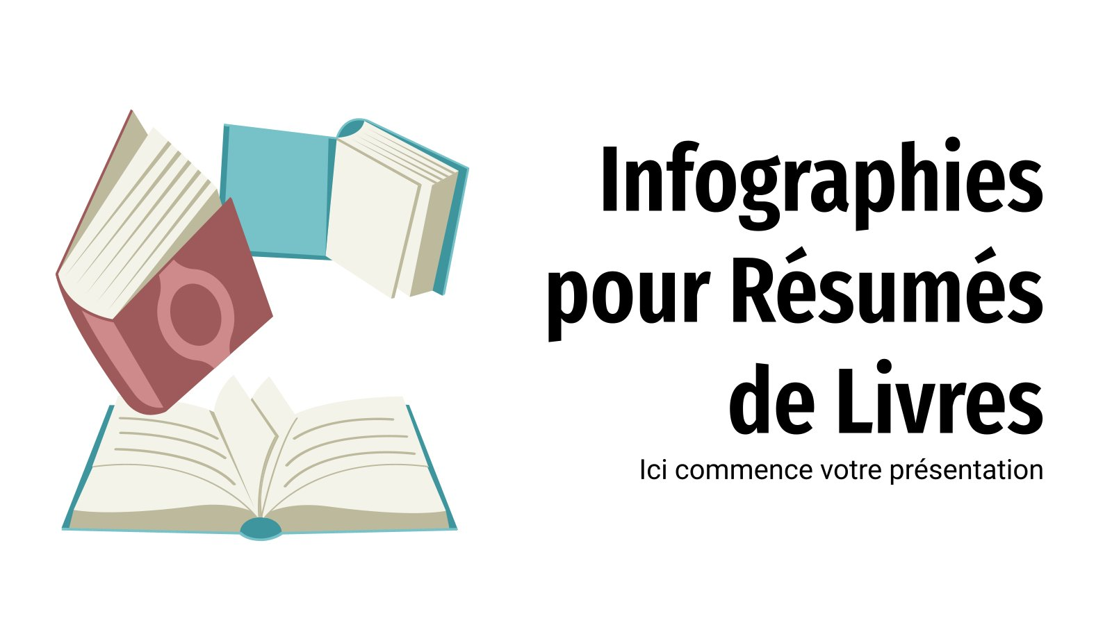 Infographies pour Résumés de Livres : Modèles de présentation