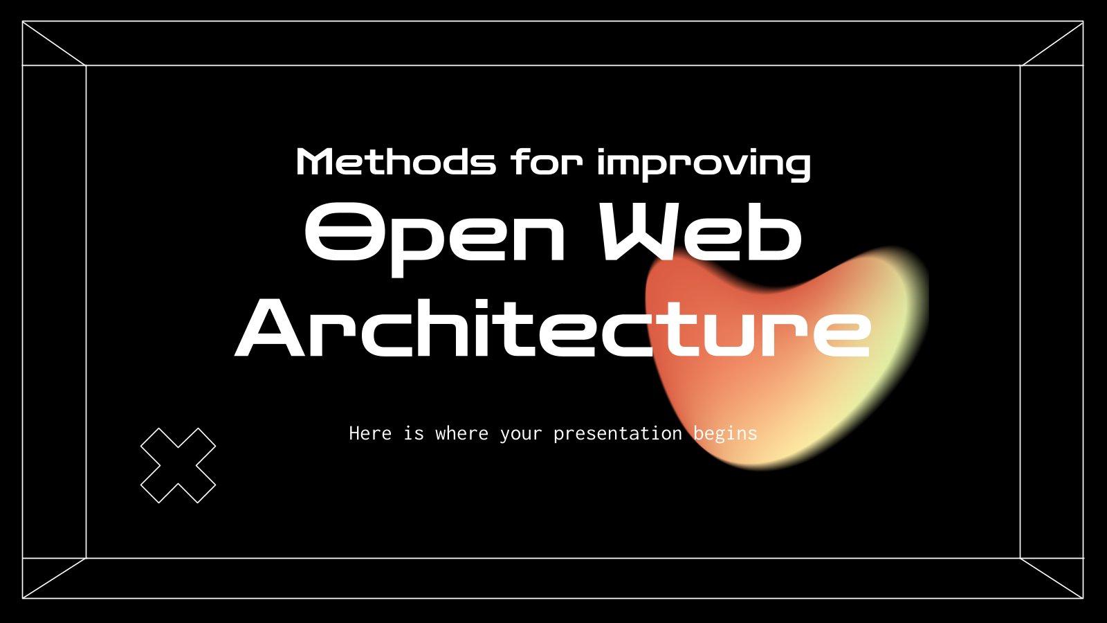 Methoden zur Verbesserung der Web-Architektur Präsentationsvorlage
