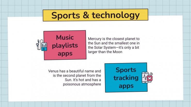 Modelo de apresentação Educação física para o ensino médio: Esportes e jogos