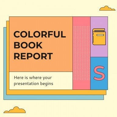 Colorful Book Report IG Posts