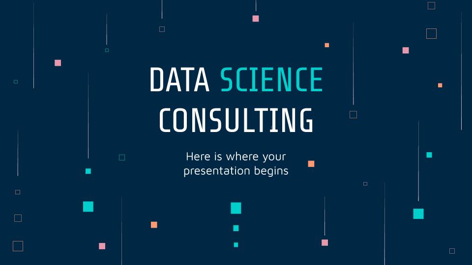 Conseil en data science : Modèles de présentation
