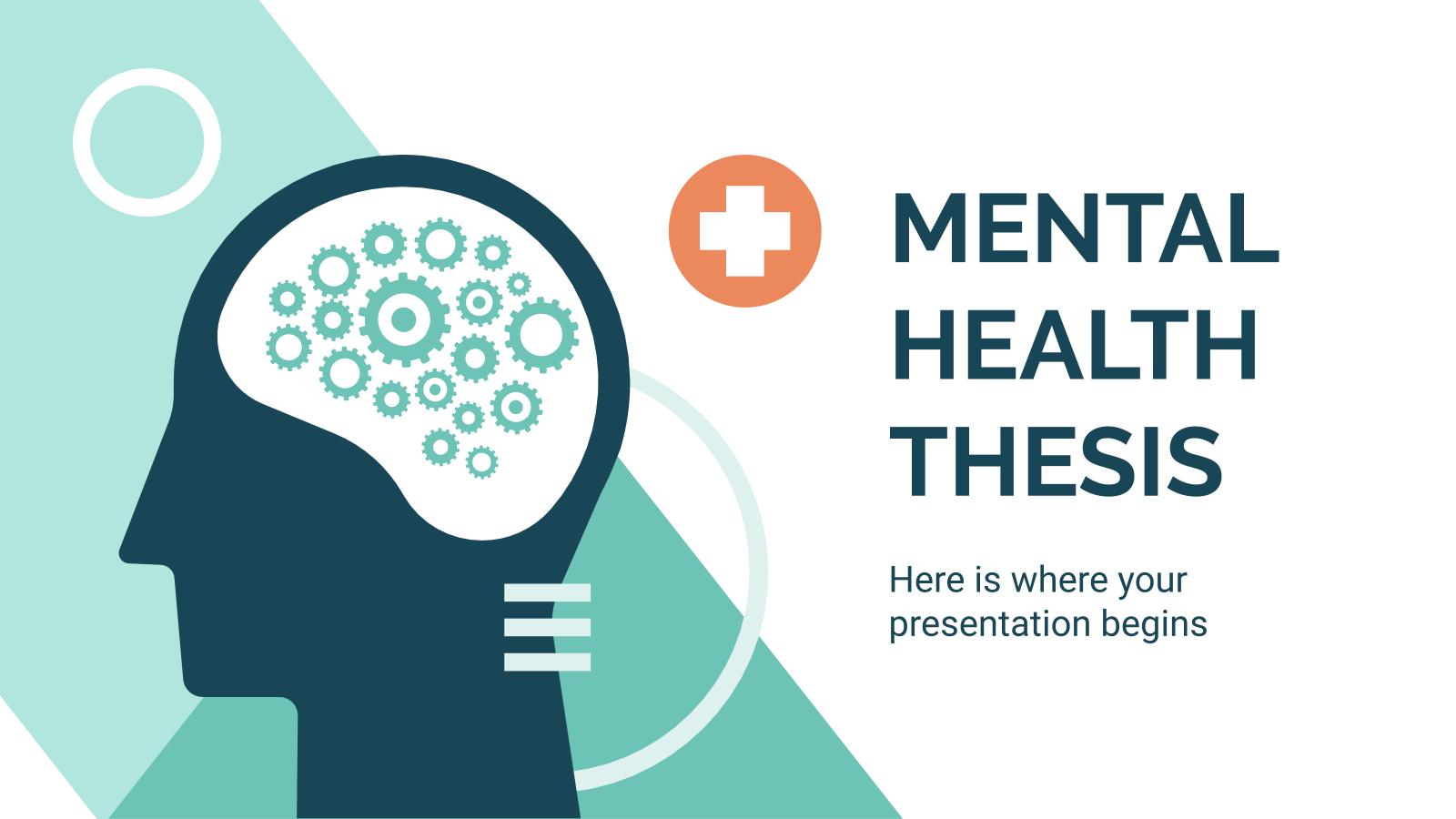 Modelo de apresentação Pesquisa sobre saúde mental