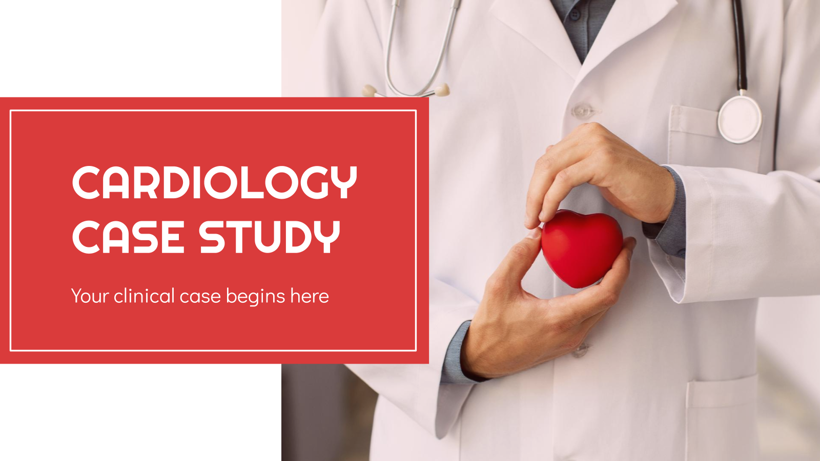 Cardiology Case Study presentation template