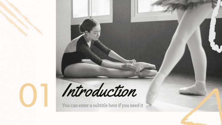 Appréciation du ballet : Modèles de présentation