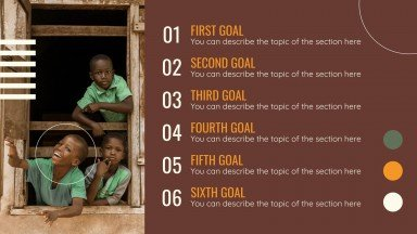 Ziele für nachhaltige Entwicklung Präsentationsvorlage