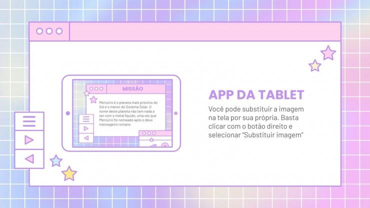 Interface bonitinha para centro de saúde : Modèles de présentation