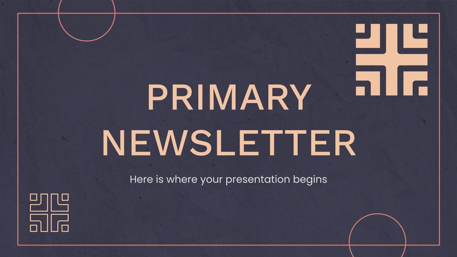 Une newsletter essentielle : Modèles de présentation