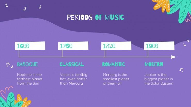 Modelo de apresentação Mês do Piano