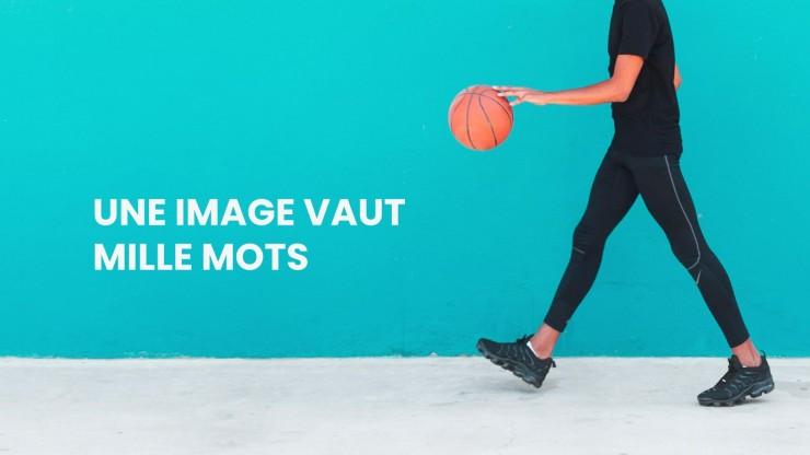 Merveilleuses baskets - Profil de l'entreprise presentation template