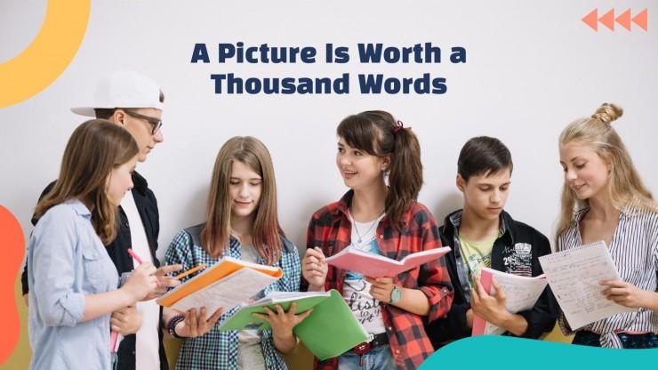 Lehrer-Newsletter Präsentationsvorlage