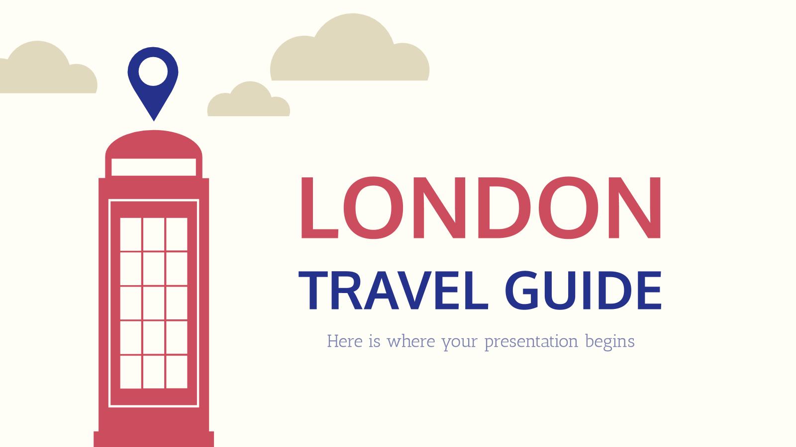 Modelo de apresentação Guia de viagem: Londres