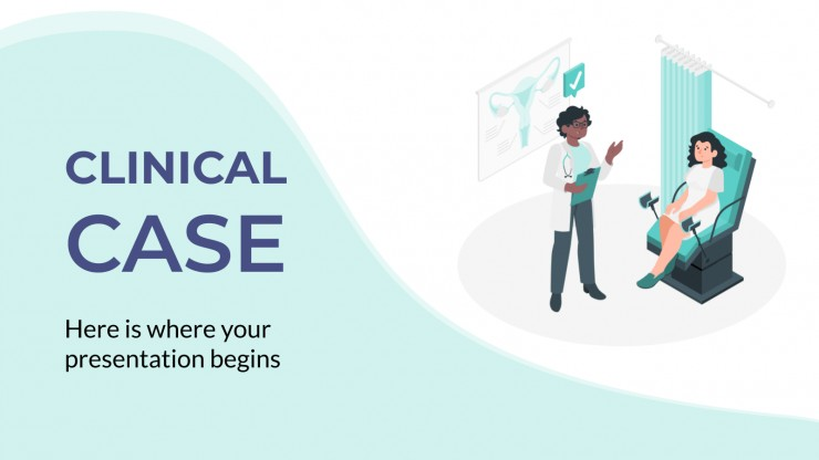 Interactive Clinical Case presentation template