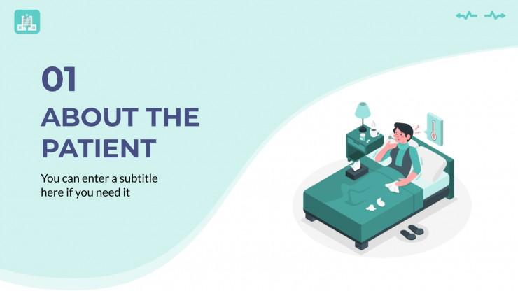 Interactive Clinical Case presentation template