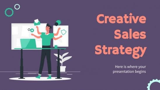Creative Sales Strategy presentation template
