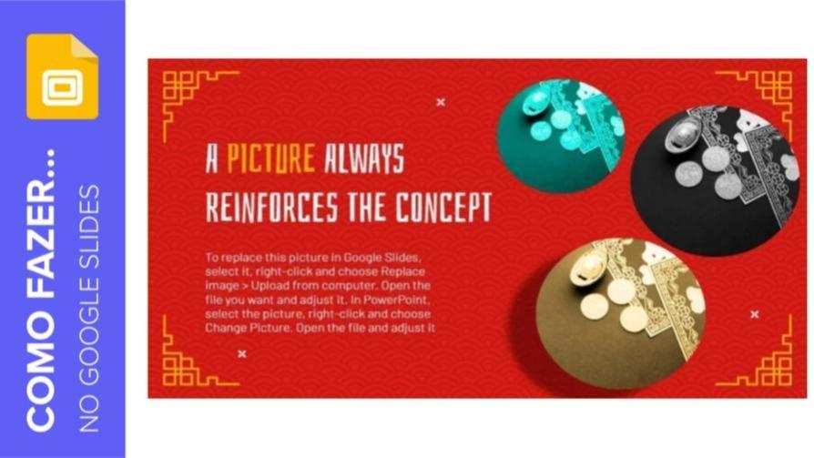 Como aplicar efeitos a uma imagem no Google Slides | Tutoriais e Dicas de apresentação