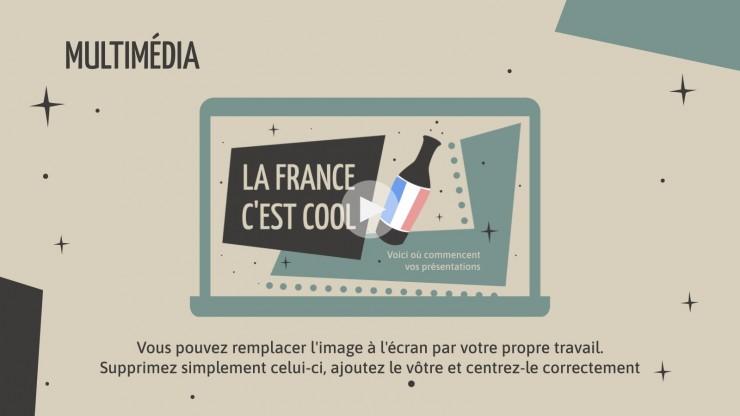 Plantilla de presentación ¡Francia mola!