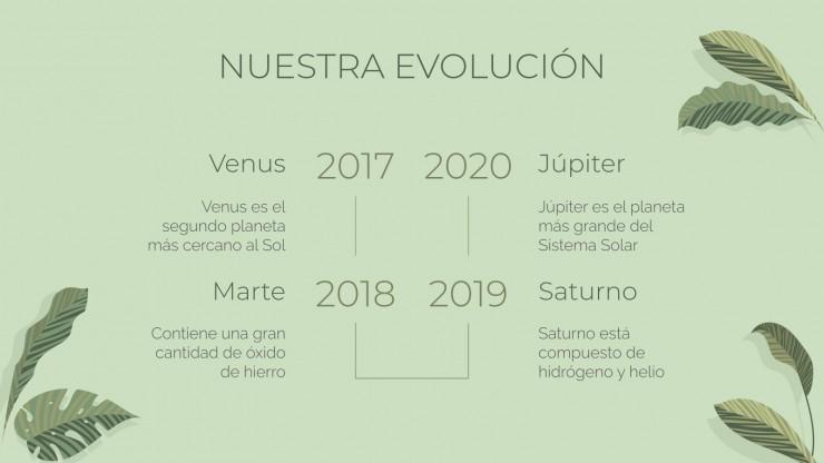 Agencia Selva : Modèles de présentation