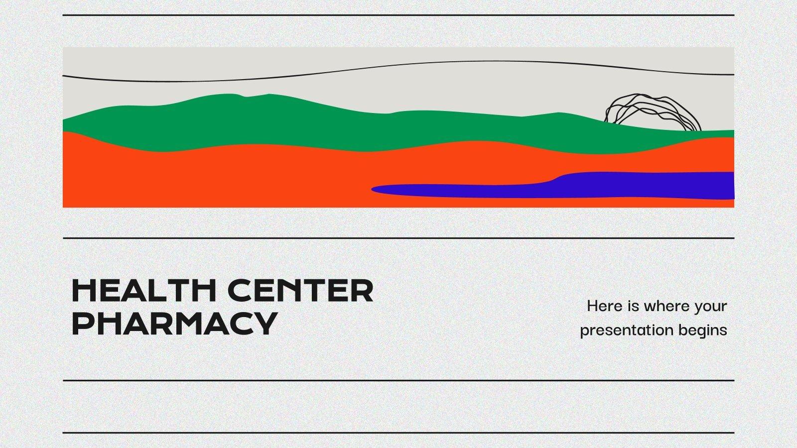 Gesundheitszentrum: Apotheke Präsentationsvorlage