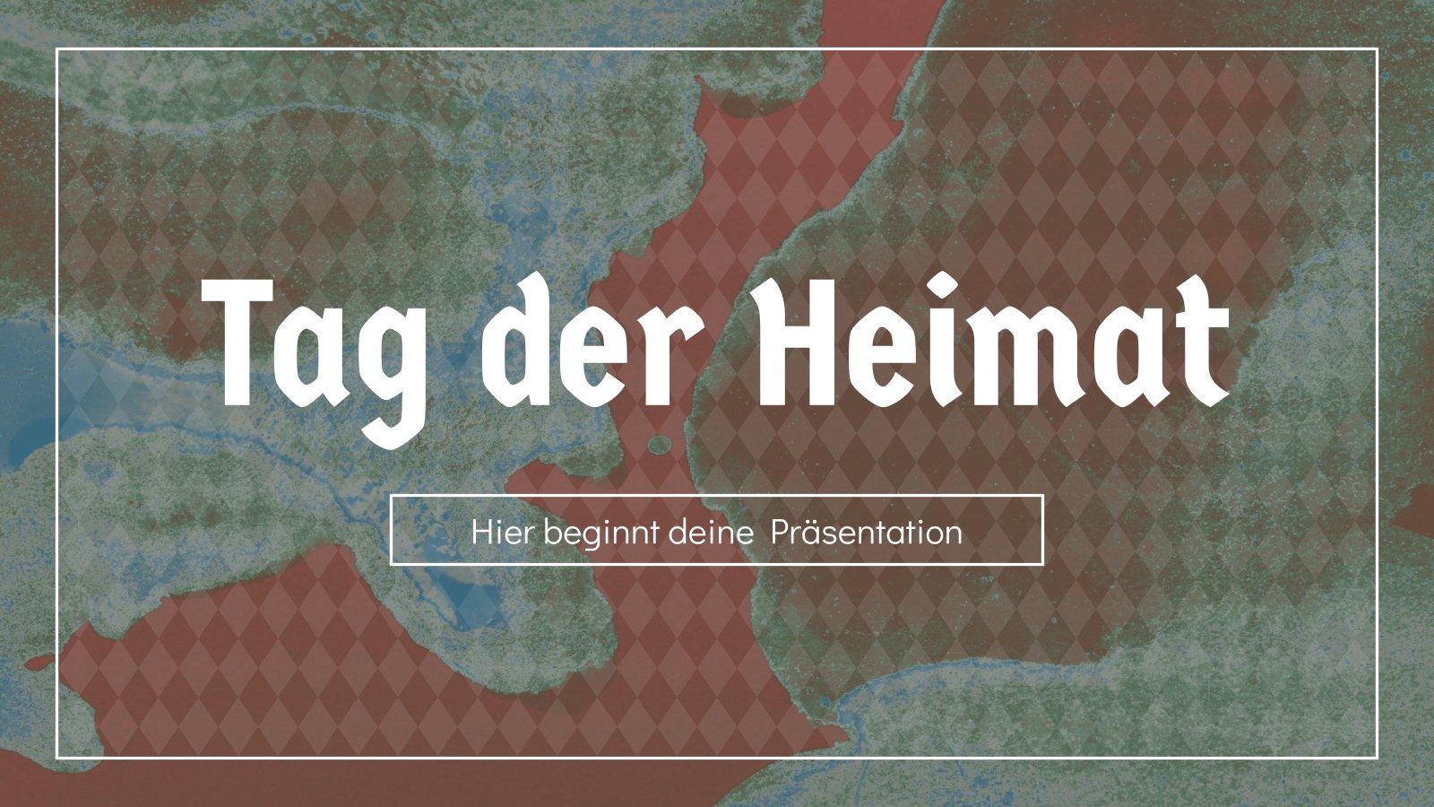 Tag der Heimat (Jour de la patrie en Allemagne) : Modèles de présentation