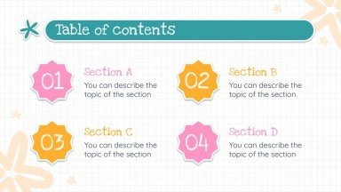 Phonics Subject for Pre-K: Grammar presentation template