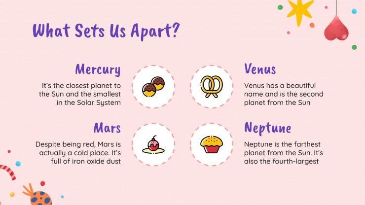 Campagne de marketing sur les bonbons et les sucreries : Modèles de présentation