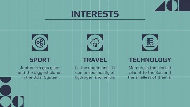 Minithème de CV d'investisseur en cryptomonnaies : Modèles de présentation
