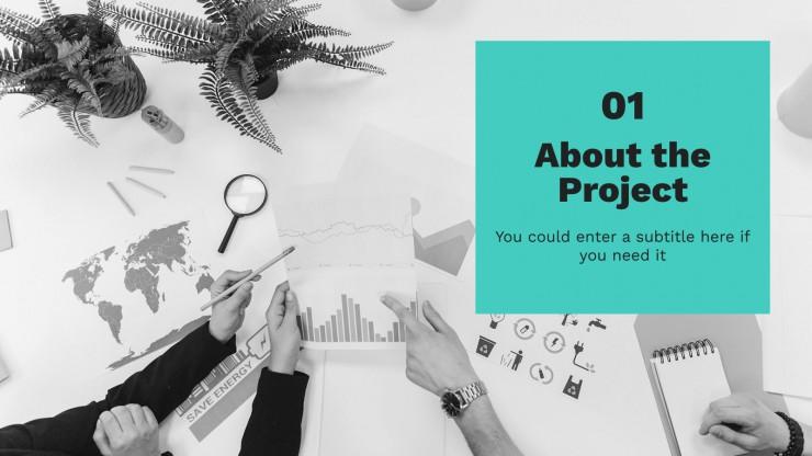 Modelo de apresentação Proposta de projeto simples