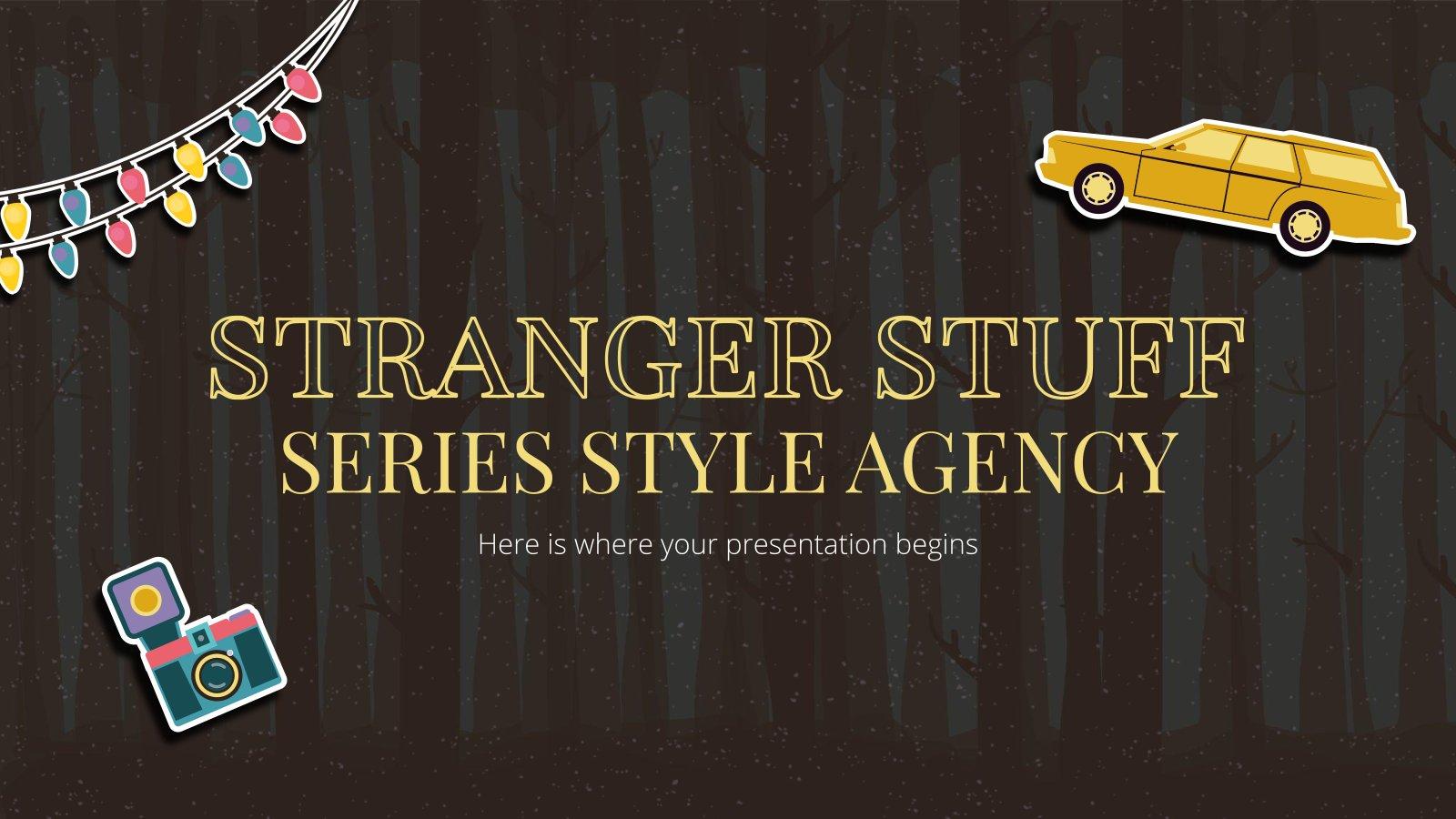 Agence de style de Stranger Stuff : Modèles de présentation
