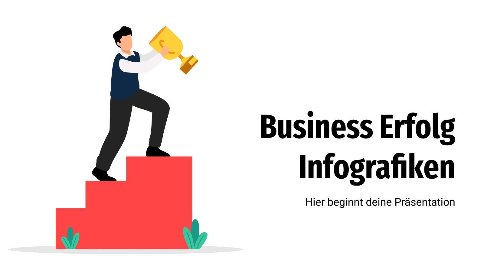 Business Erfolg Infografiken : Modèles de présentation