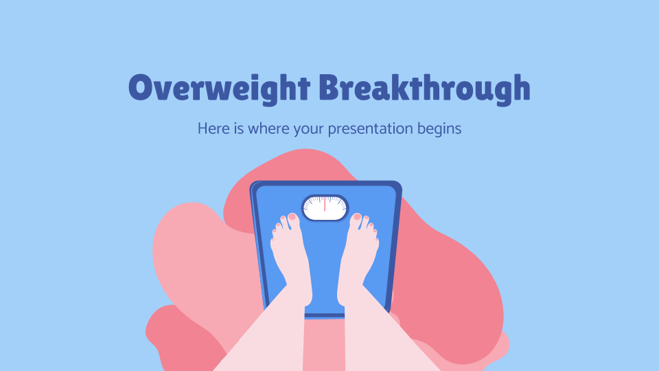 Overweight Breakthrough presentation template
