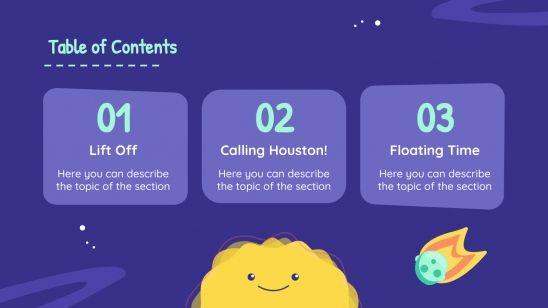 Planificateur pour la maternelle : Modèles de présentation