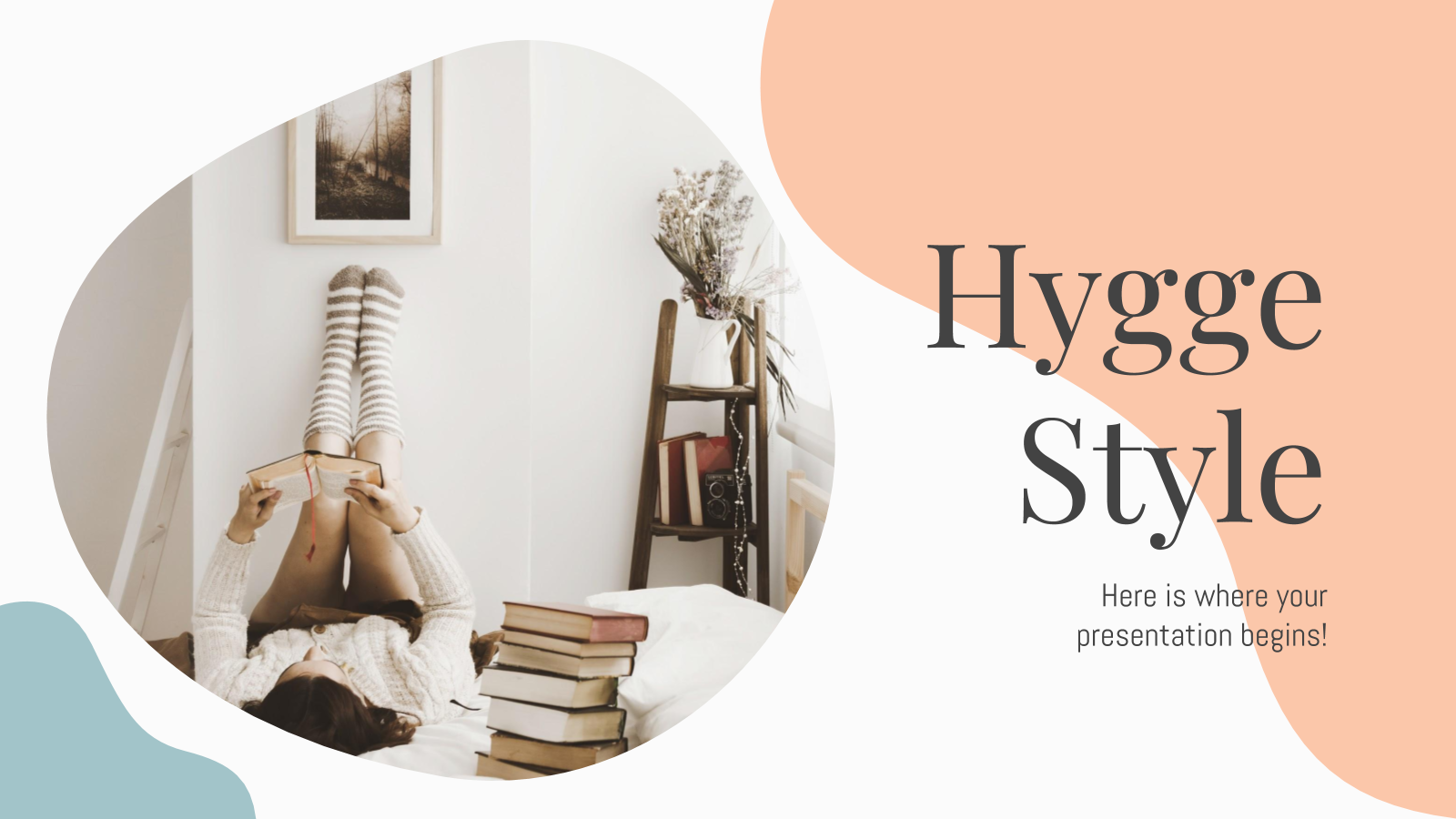 Hygge Style presentation template