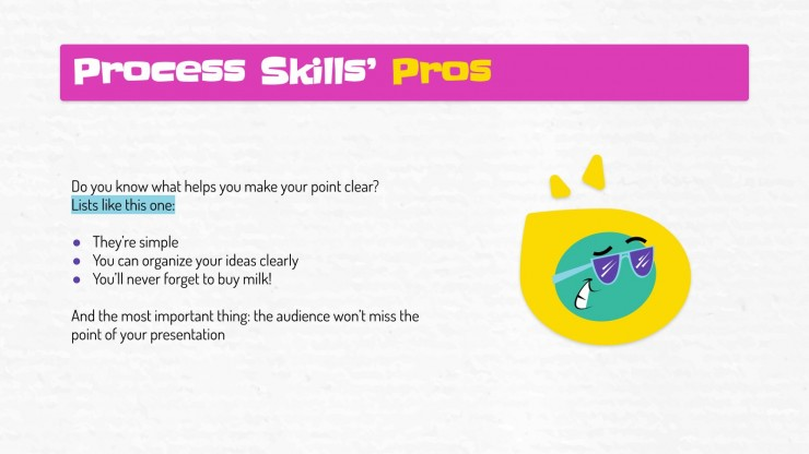 Science Subject for Elementary - 3rd Grade: Process Skills presentation template