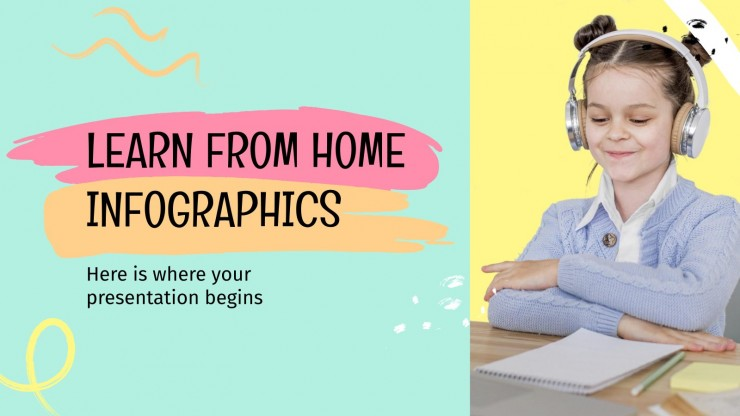 Learn from Home Infographics