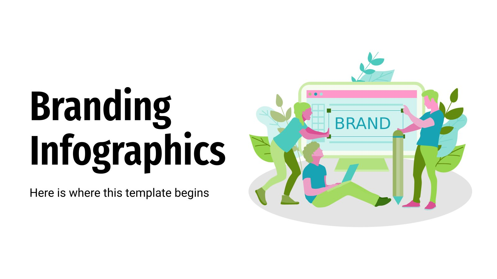 Infographies pour le branding : Modèles de présentation