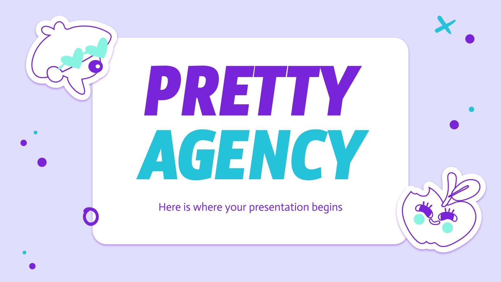 Modelo de apresentação Agência bonita