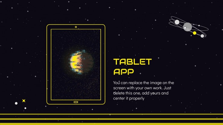 Multi-Space Theme for May presentation template
