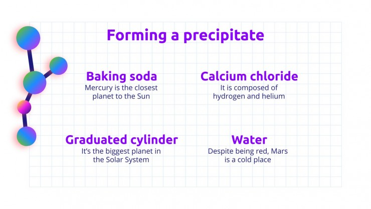 Science Subject for Middle School - 6th Grade: Chemistry presentation template