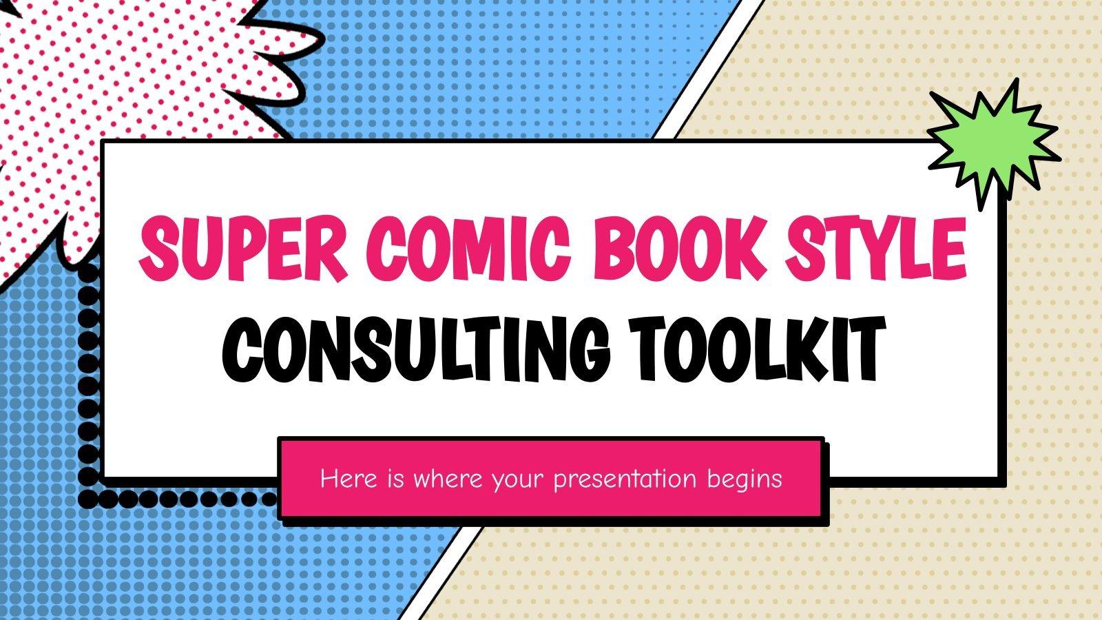 Boîte à outils de consultation sur le style des bandes dessinées : Modèles de présentation
