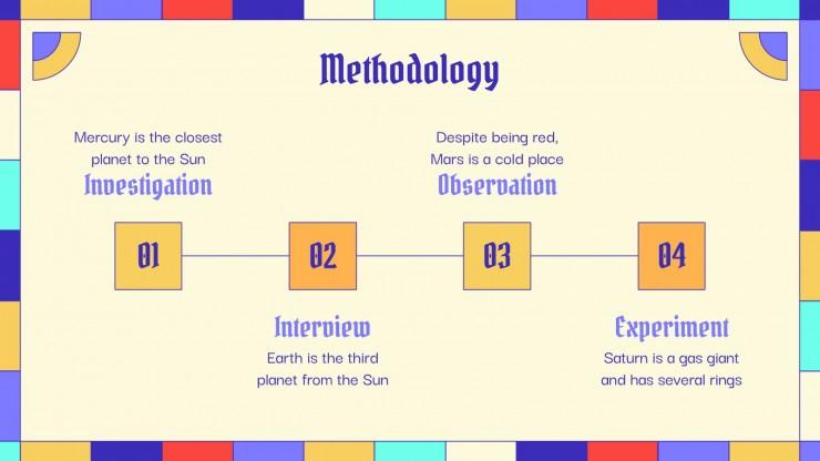 Thèse sur les évangiles : Modèles de présentation
