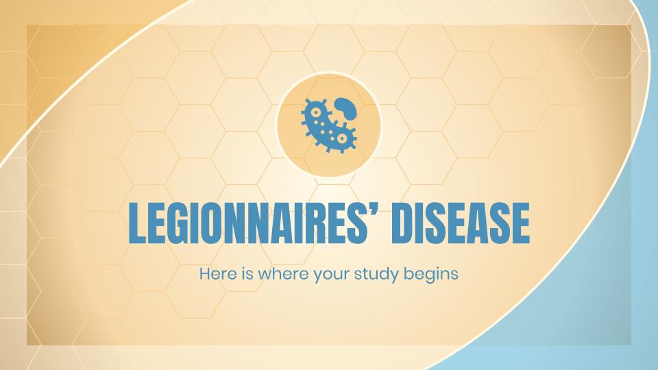 Plantilla de presentación Legionelosis