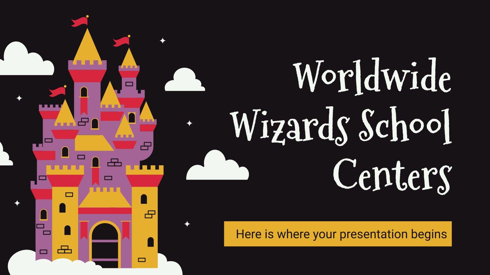 Écoles de magiciens du monde : Modèles de présentation