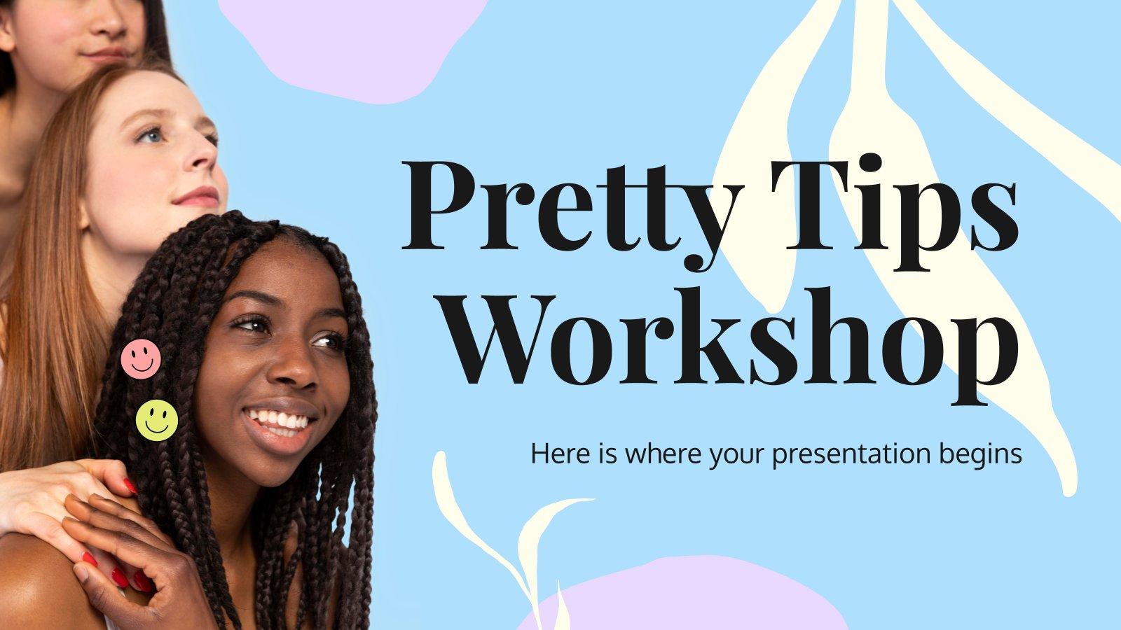 Atelier de jolis conseils : Modèles de présentation
