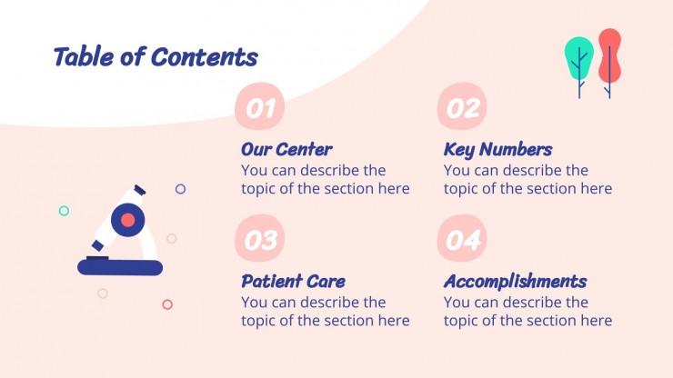 Regional Center presentation template