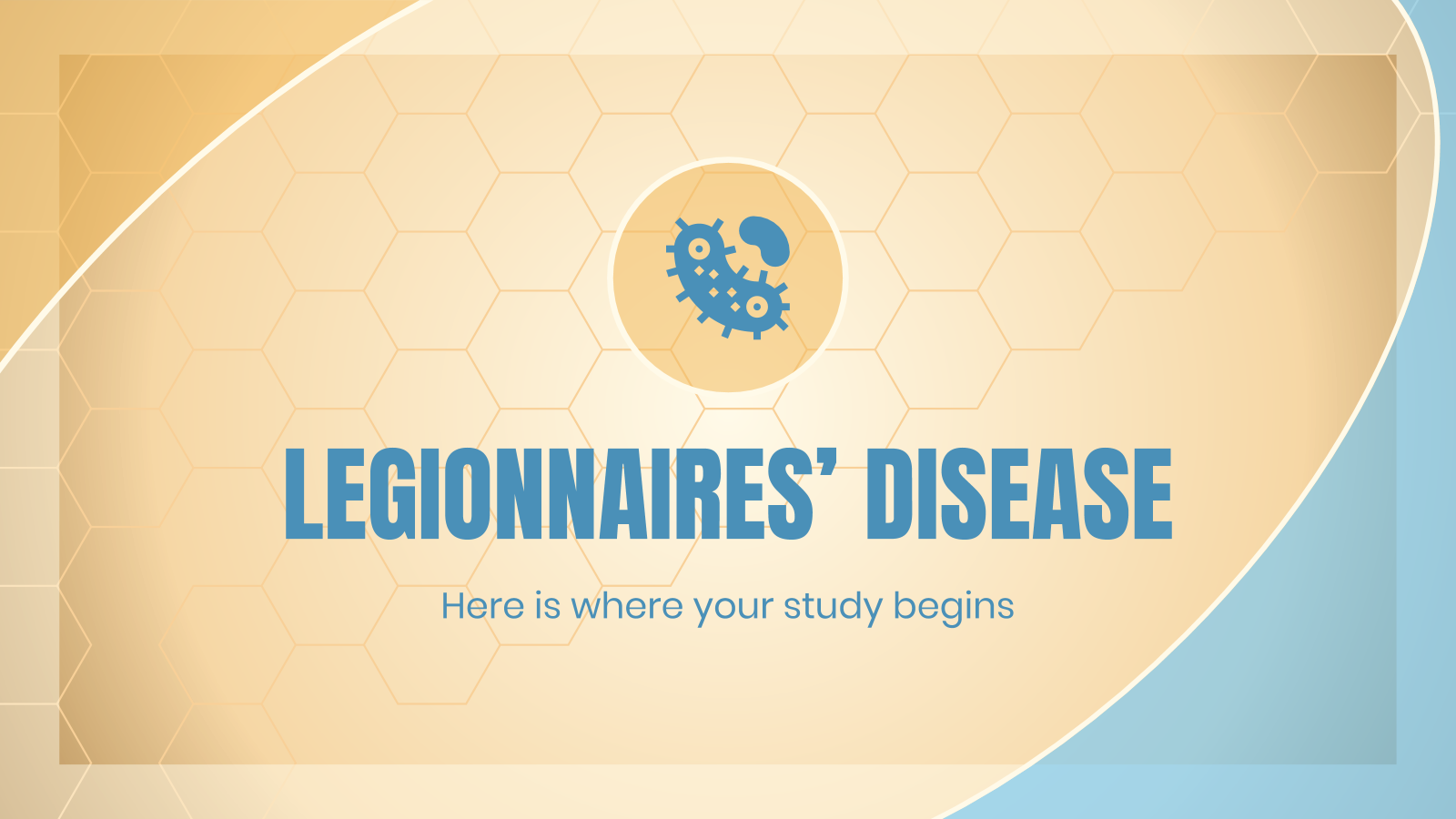Legionnaires' Disease presentation template