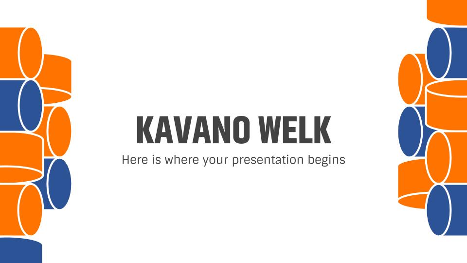 Kavano Welk presentation template