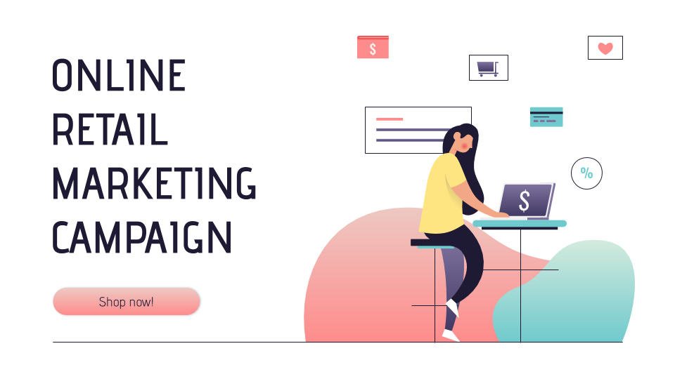 Online Retail Marketing Campaign presentation template